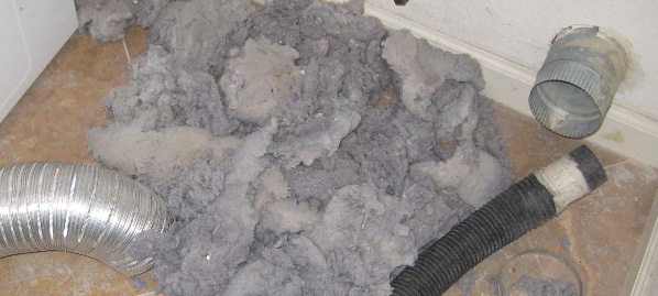 how to clean vertical dryer vent
